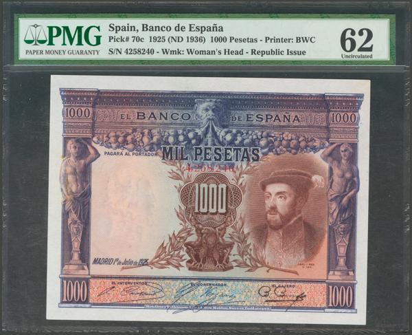 1038 - Billetes Españoles