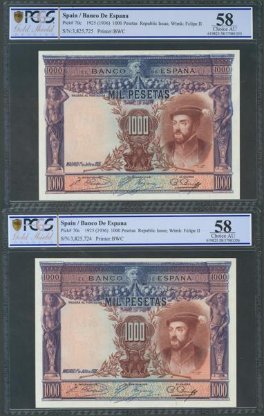 1039 - Billetes Españoles