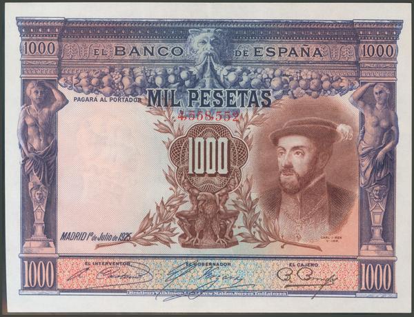 1040 - Billetes Españoles