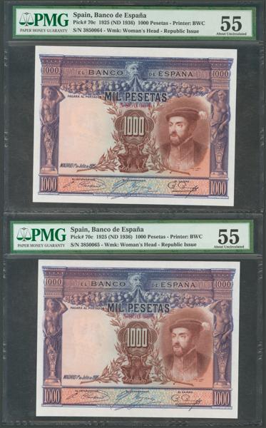 1041 - Billetes Españoles