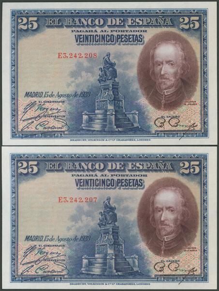 1044 - Billetes Españoles