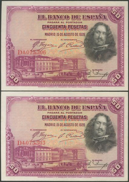 1045 - Billetes Españoles