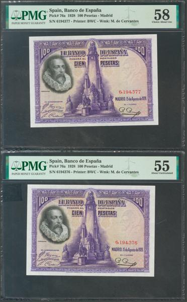 1047 - Billetes Españoles