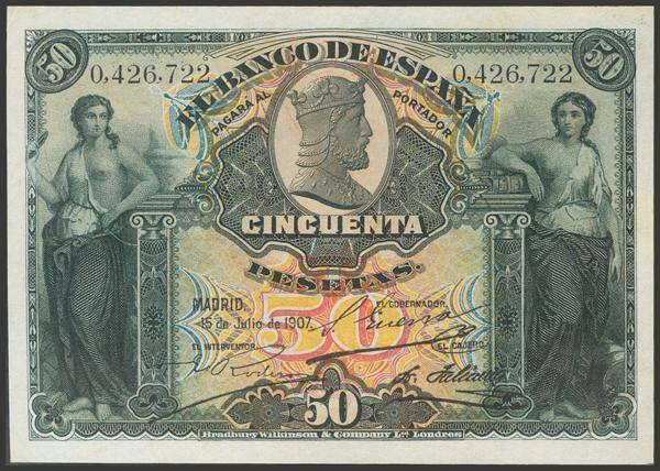 2028 - Billetes Españoles