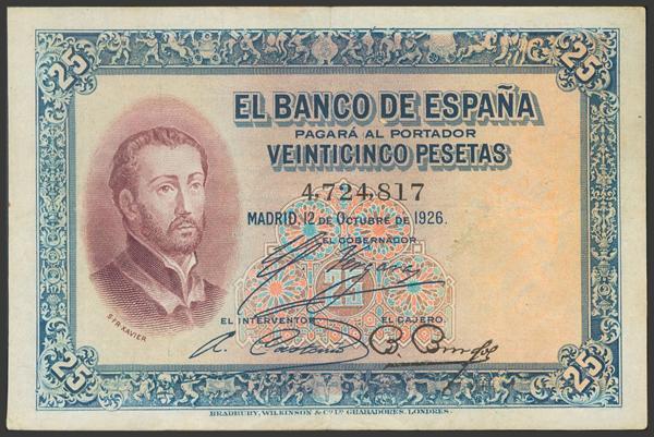 2036 - Billetes Españoles
