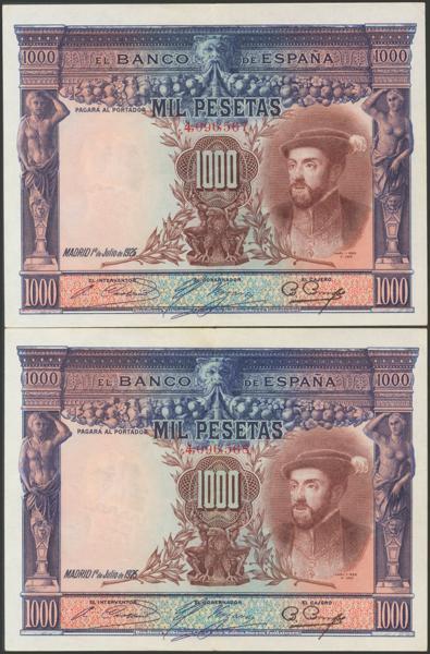2052 - Billetes Españoles