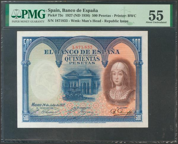 2054 - Billetes Españoles