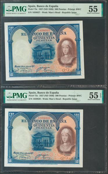 2055 - Billetes Españoles