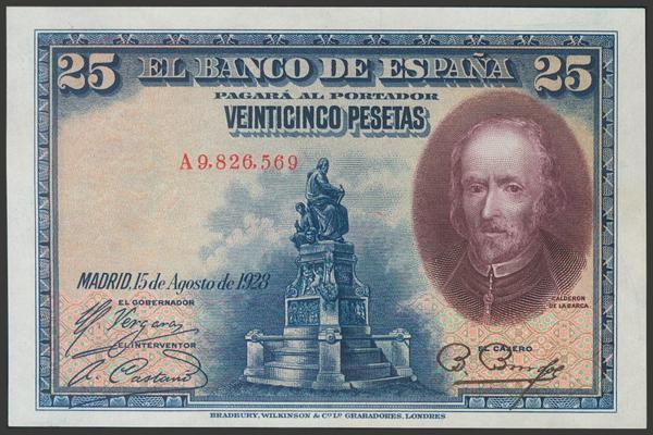 2056 - Billetes Españoles