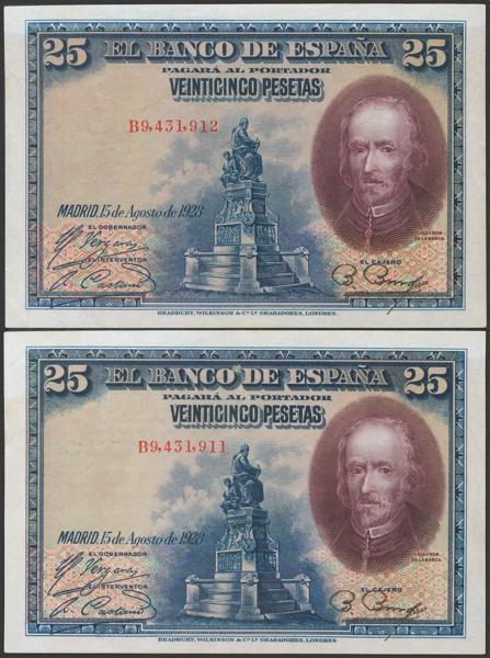 2057 - Billetes Españoles