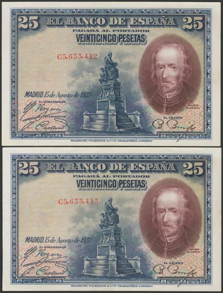2058 - Billetes Españoles