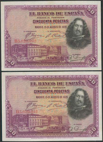 2062 - Billetes Españoles