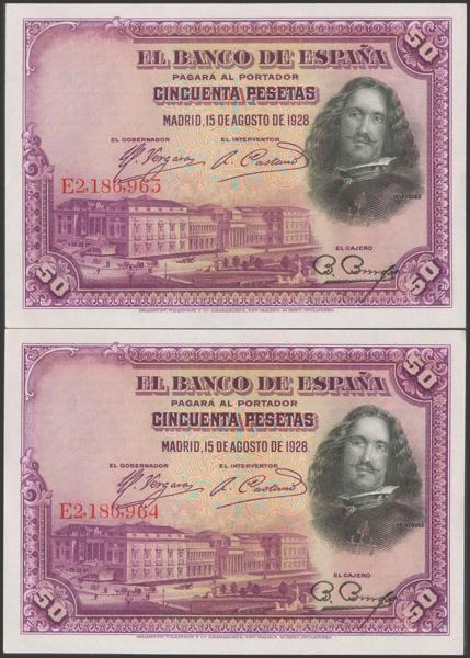 2063 - Billetes Españoles