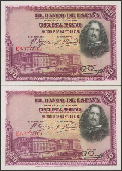 2064 - Billetes Españoles