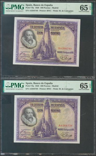 2070 - Billetes Españoles