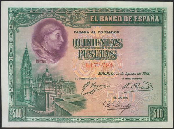 2072 - Billetes Españoles