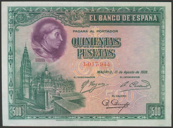 2073 - Billetes Españoles