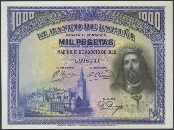 2074 - Billetes Españoles