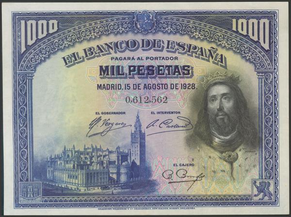 2075 - Billetes Españoles