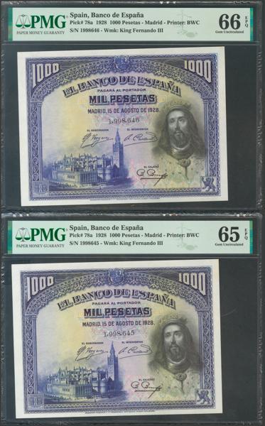 2076 - Billetes Españoles