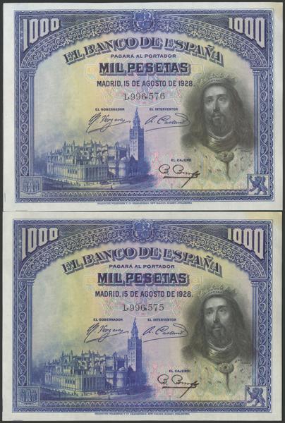 2077 - Billetes Españoles