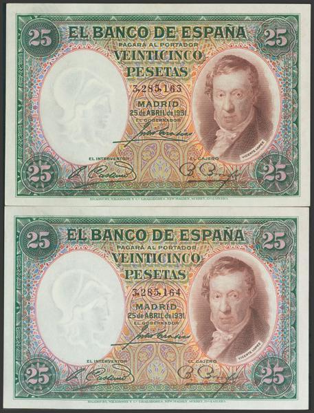 2081 - Billetes Españoles