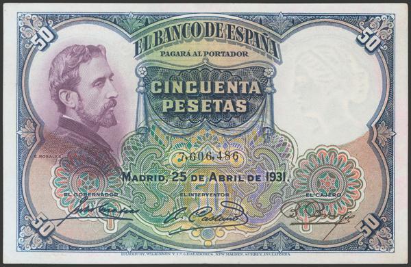 2082 - Billetes Españoles