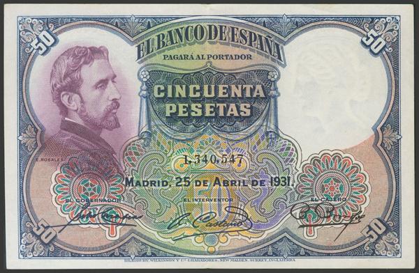 2083 - Billetes Españoles
