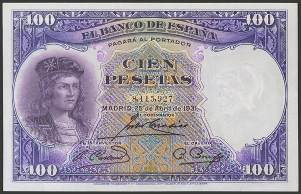 2084 - Billetes Españoles