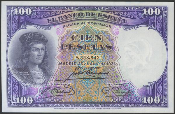 2085 - Billetes Españoles