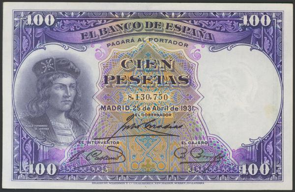 2086 - Billetes Españoles