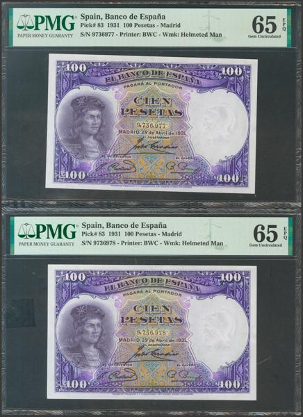 2087 - Billetes Españoles