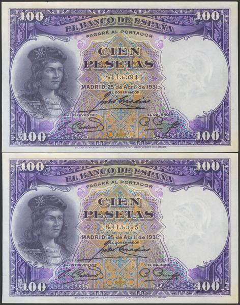 2089 - Billetes Españoles