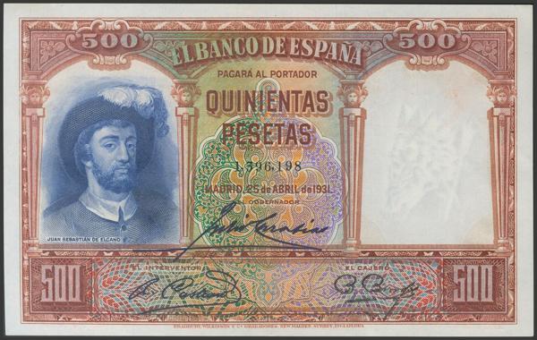 2091 - Billetes Españoles