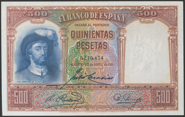 2092 - Billetes Españoles