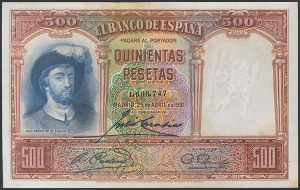 2093 - Billetes Españoles