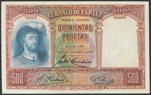 2094 - Billetes Españoles