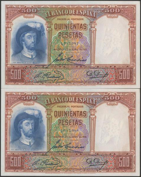 2095 - Billetes Españoles