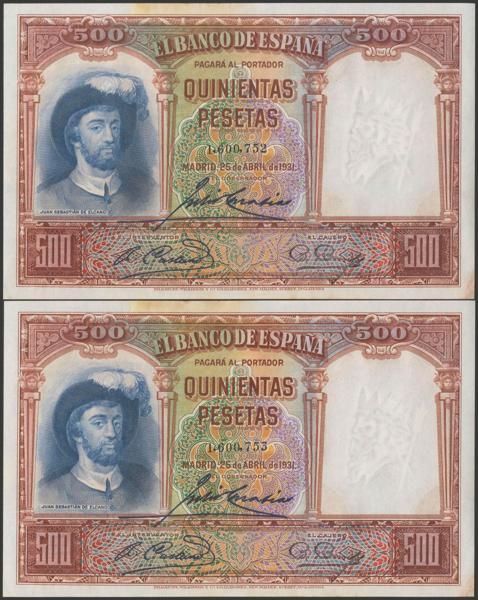 2096 - Billetes Españoles