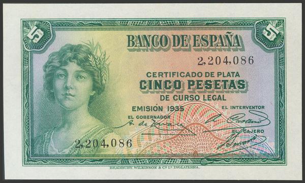 2098 - Billetes Españoles