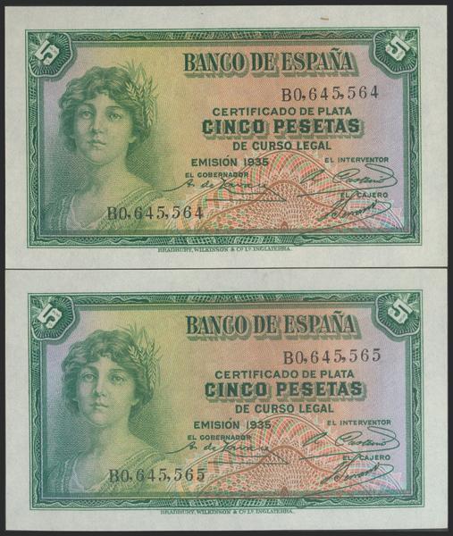 2101 - Billetes Españoles