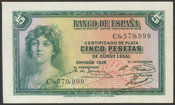 2102 - Billetes Españoles