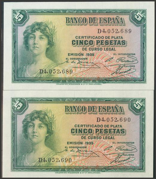 2104 - Billetes Españoles