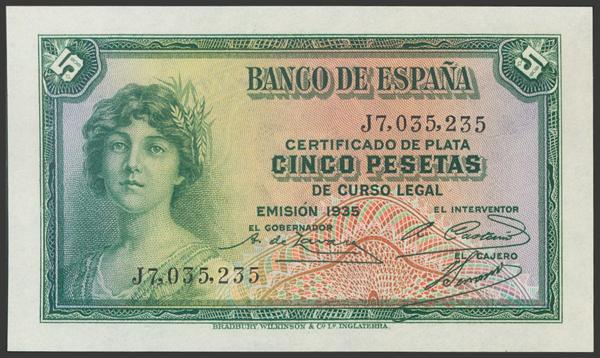2105 - Billetes Españoles