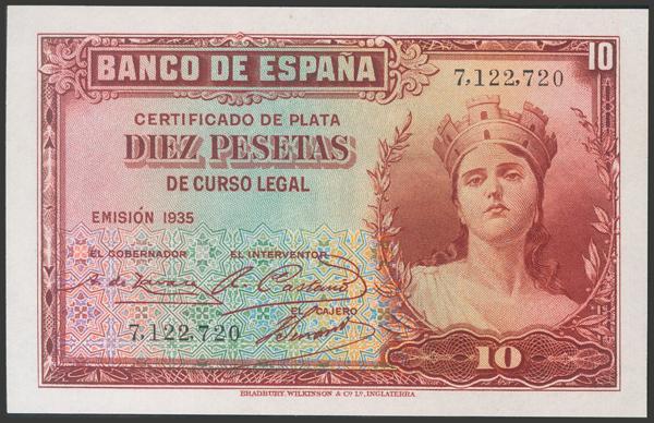 2107 - Billetes Españoles