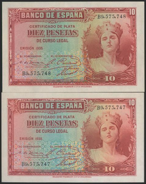 2110 - Billetes Españoles
