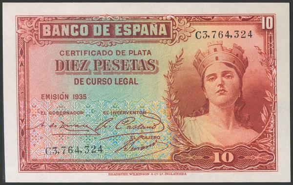 2111 - Billetes Españoles