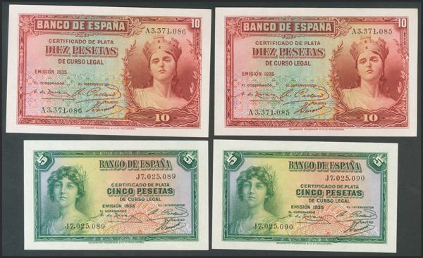 2113 - Billetes Españoles