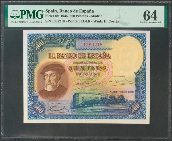 2114 - Billetes Españoles