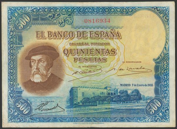 2115 - Billetes Españoles